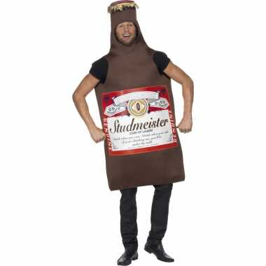 Bierfles verkleed carnavalsoutfit