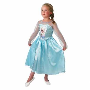 Blauwe frozen jurk kids