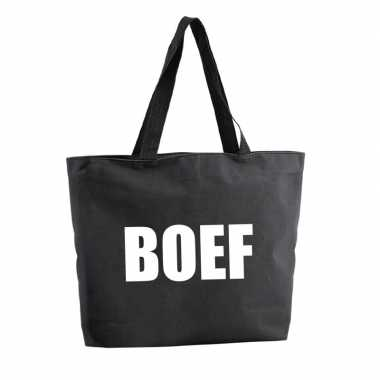Boef shopper tas zwartoriginele