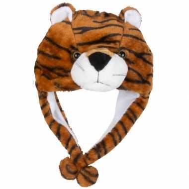 Carnaval tijger muts kids
