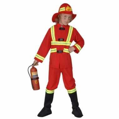 Carnavalsoutfit brandweer kinderenOriginele