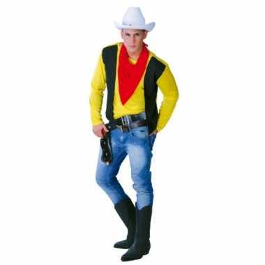 Carnavalsoutfit cowboy mannen