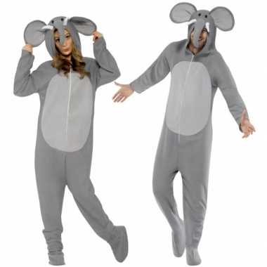Carnavalsoutfit olifant all-one volwassenenOriginele