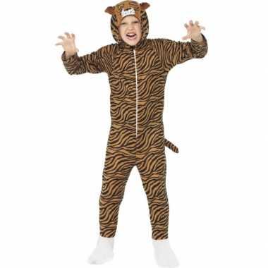 Carnavalsoutfit tijger all-one kinderenOriginele