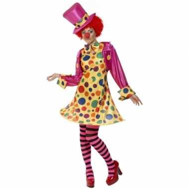 Dames clowns carnavalscarnavalsoutfit