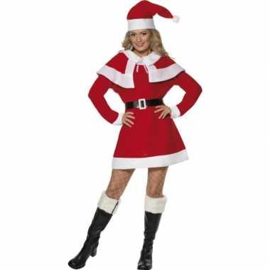 Dames kerstcarnavalsoutfit jurkje