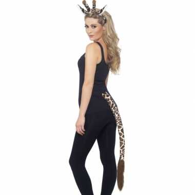 Dieren verkleedset giraffeoriginele