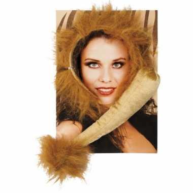 Dieren verkleedset leeuwOriginele