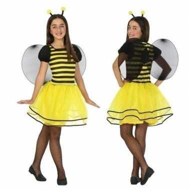 Dierenpak bij/bijen verkleed jurk/jurkje meisjesoriginele