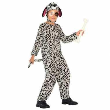 Dierenpak hond/honden verkleed carnavalsoutfit dalmatier kinderenorig