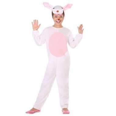 Dierenpak konijn/haas verkleed carnavalsoutfit kinderenoriginele