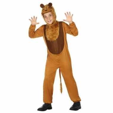 Dierenpak leeuw/leeuwen verkleed carnavalsoutfit kinderenoriginele
