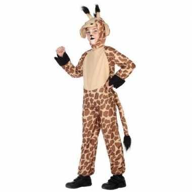 Dierenpak verkleed carnavalsoutfit giraffe kinderenoriginele