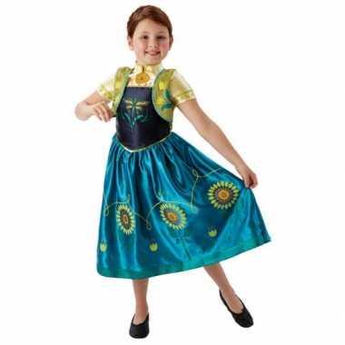 Feest carnavalsoutfit Anna Frozen meisjesOriginele