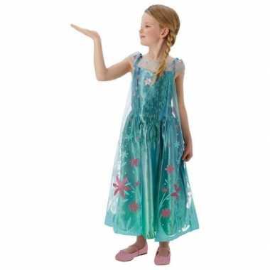 Feest carnavalsoutfit Elsa Frozen meisjesOriginele