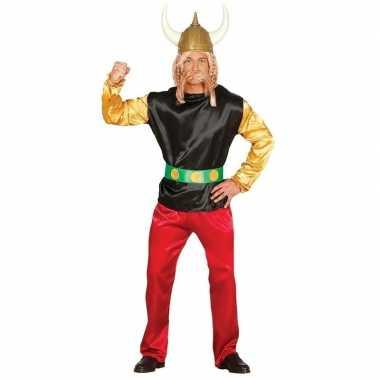 Gallier verkleed carnavalsoutfit asterix volwassenenoriginele