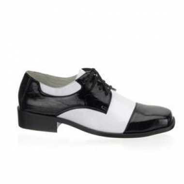 Gangster heren schoenen krokdillenprintOriginele