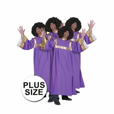 Grote maat gospel CarnavalscarnavalsoutfitOriginele