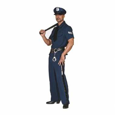 Grote maten politie carnavalsoutfitOriginele