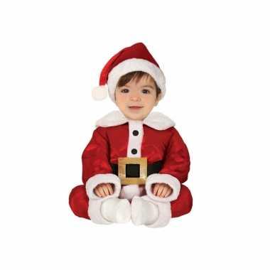 Kerstman baby verkleed carnavalsoutfit deligoriginele
