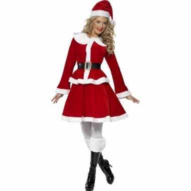 Kerstvrouw ouftit