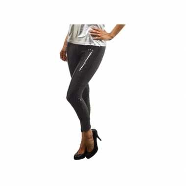 Legging zwarte paillettenoriginele