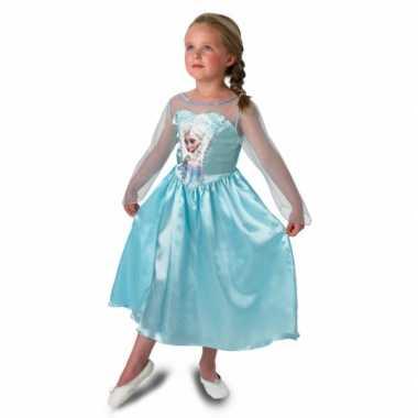Prinsessen feest carnavalsoutfit elsa meisjes