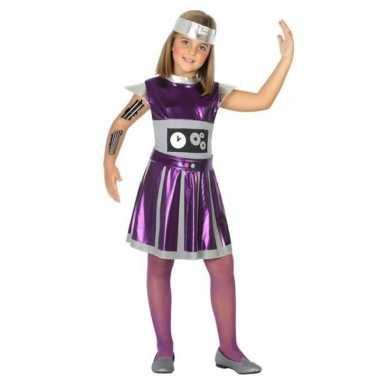 Robot verkleed jurk/jurkje meisjesoriginele