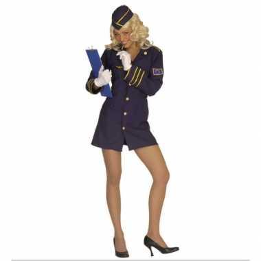 Stewardess pakje carnaval dames
