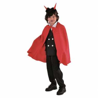 Vampier carnavalsoutfits cape rood