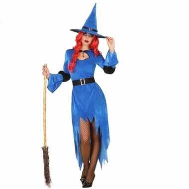 Verkleed outfit blauwe heksoriginele