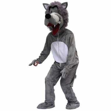 Verkleedpak wolf volwassenenoriginele