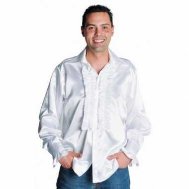Wit overhemd rouchesOriginele