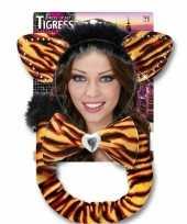 Carnaval verkleedset tijgerrin volwassenen