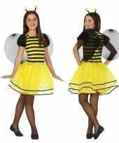 Dierenpak bij bijen verkleed jurk jurkje meisjes